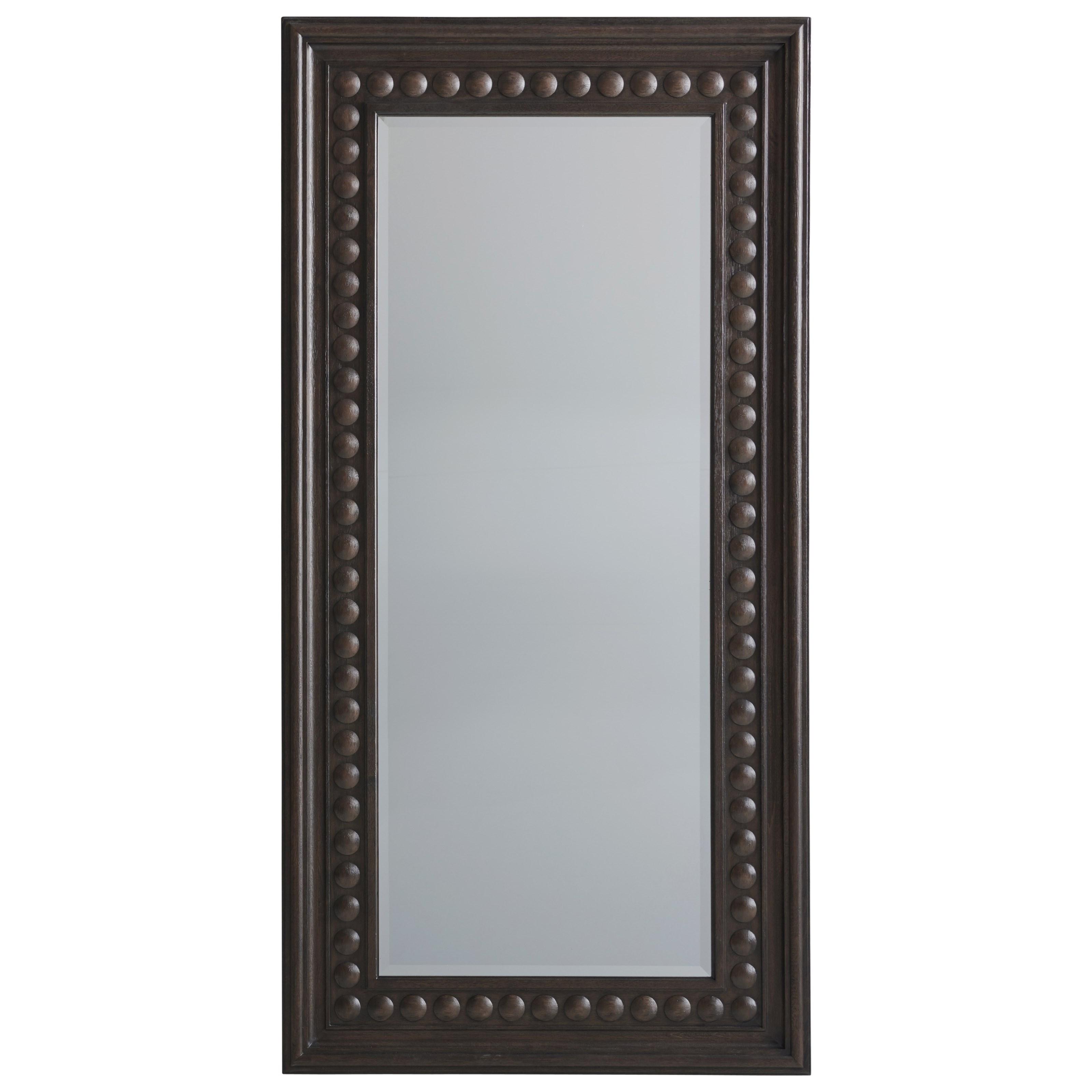 Malibu Carbon Floor Mirror by Barclay Butera at Baer's Furniture