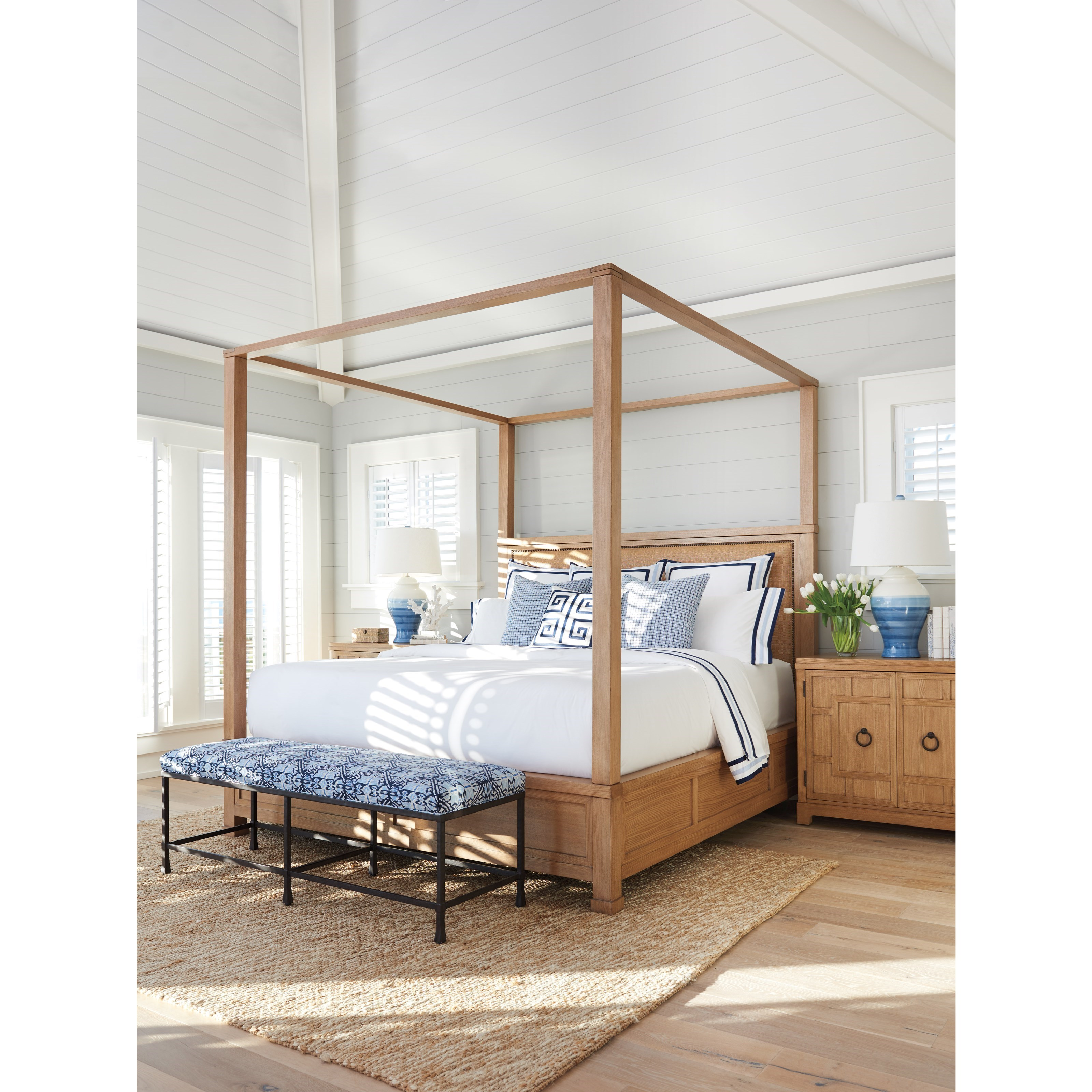 Newport King Bedroom Group by Barclay Butera at Baer's Furniture