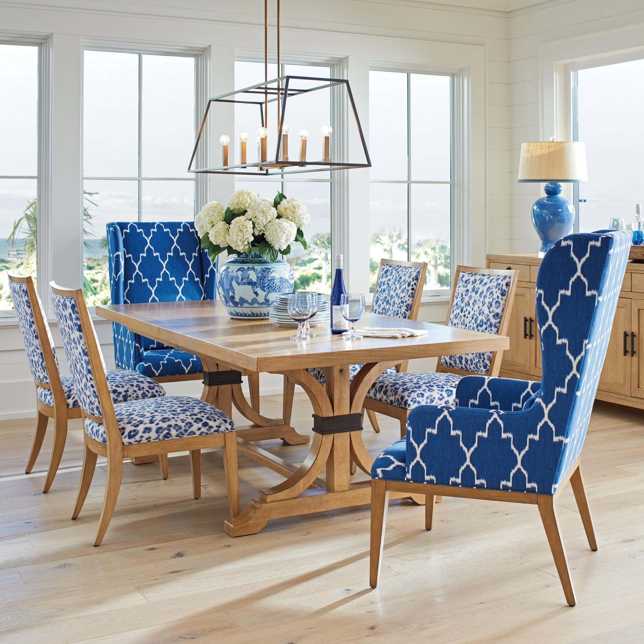 Newport 7 Pc Dining Set by Barclay Butera at Baer's Furniture