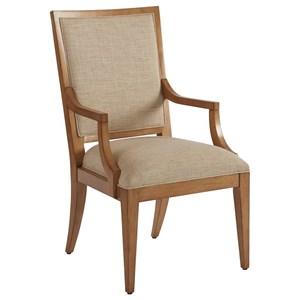 Eastbluff Arm Chair in Ventura Ivory Fabric