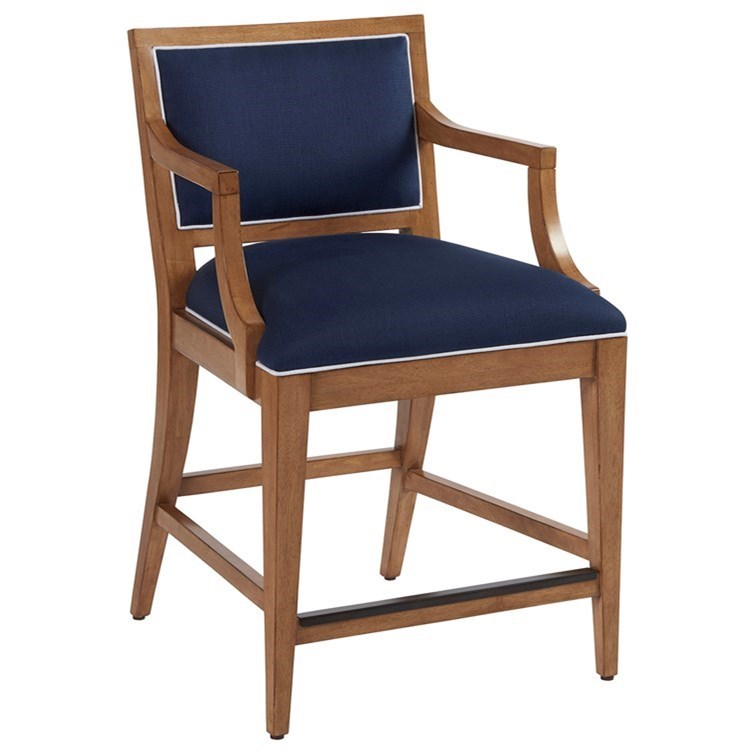 Newport Eastbluff Counter Stool by Barclay Butera at Baer's Furniture