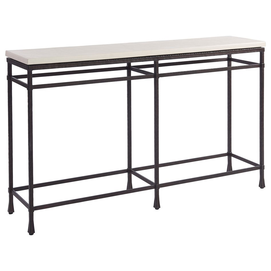 Newport Breakwater Console by Barclay Butera at Baer's Furniture