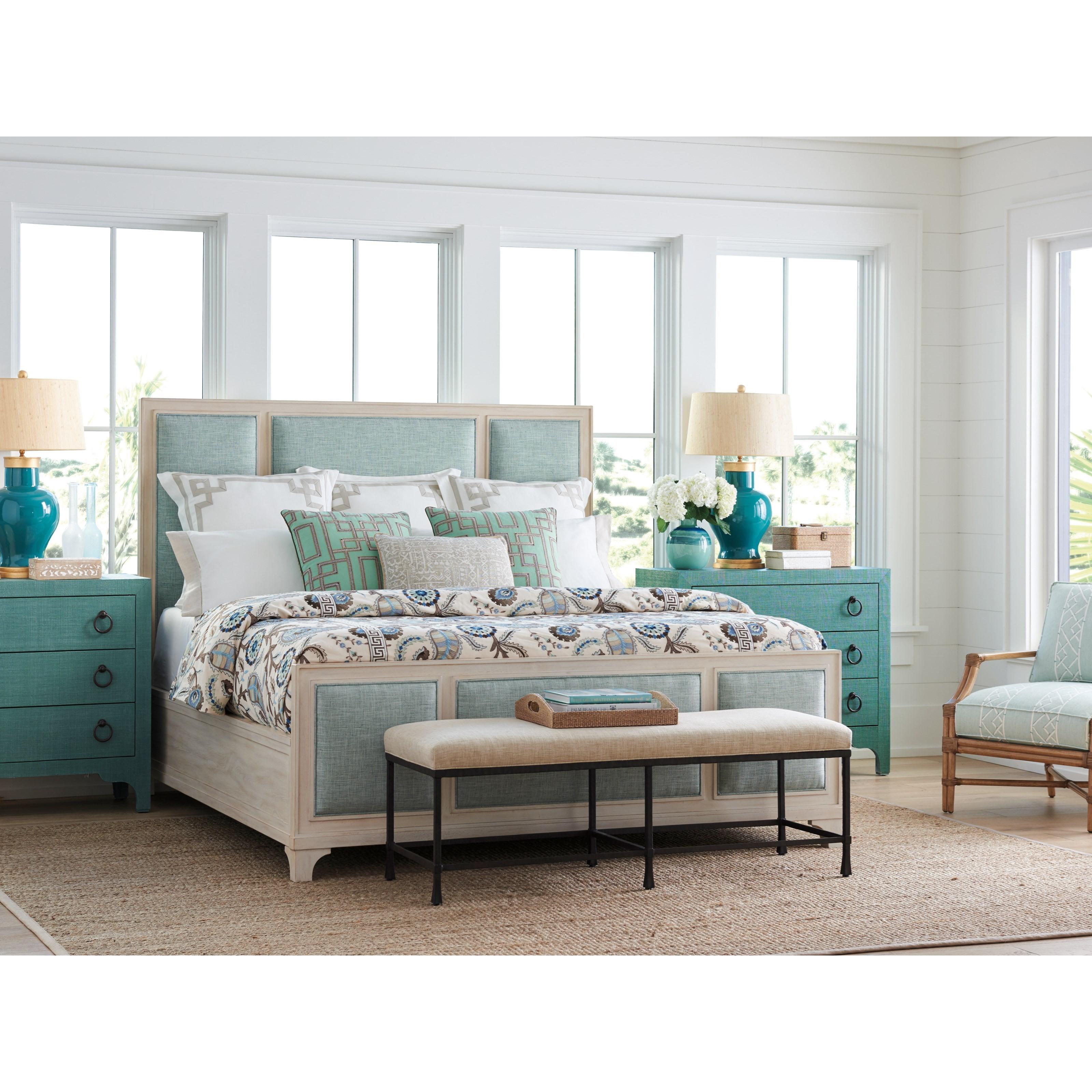 Newport King Bedroom Group by Barclay Butera at Johnny Janosik