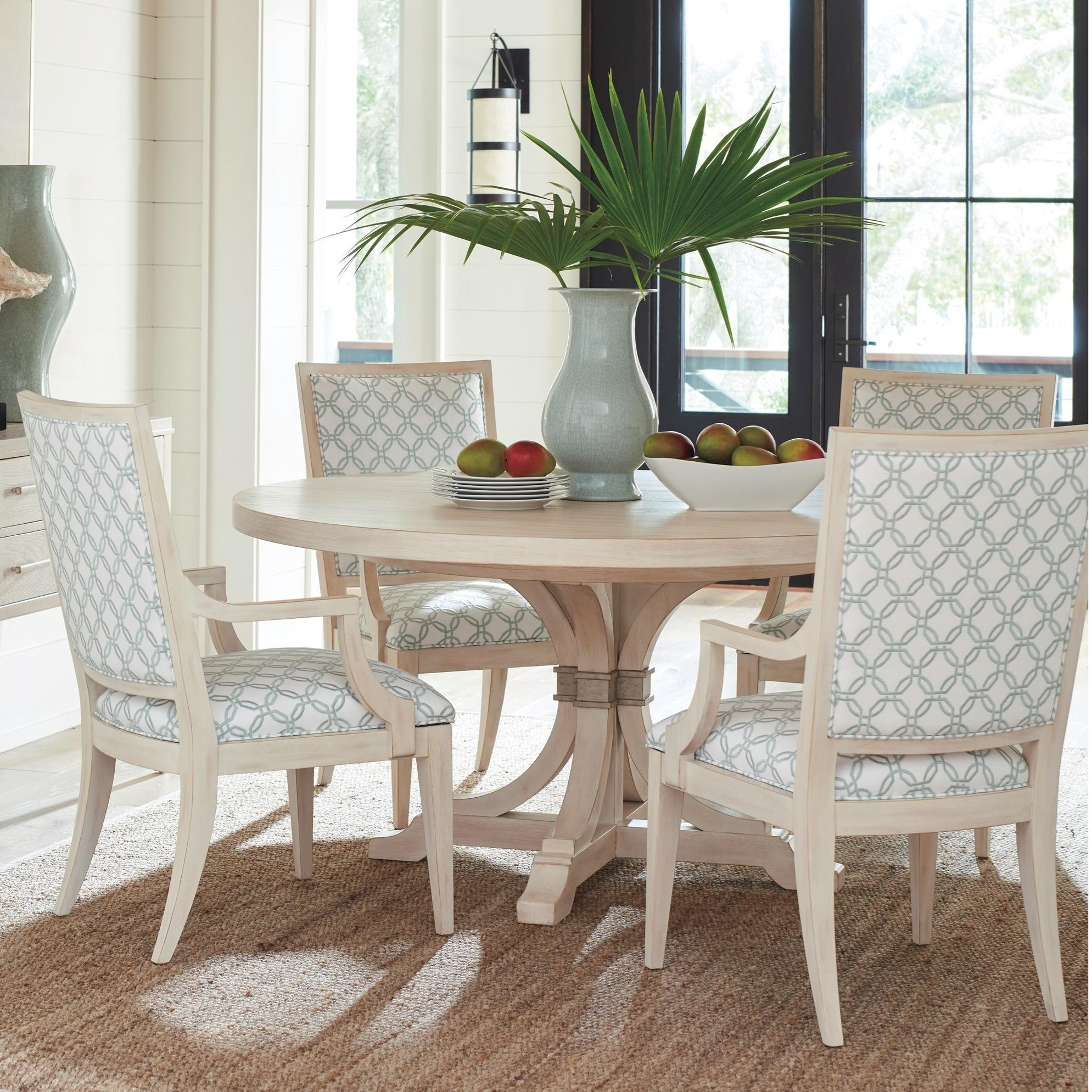 Newport 5 Pc Dining Set by Barclay Butera at Baer's Furniture