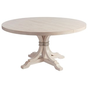 "Magnolia 60"" Round Dining Table with Table Extension Leaf"