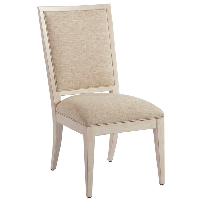 Newport Eastbluff Side Chair (married) by Barclay Butera at Baer's Furniture