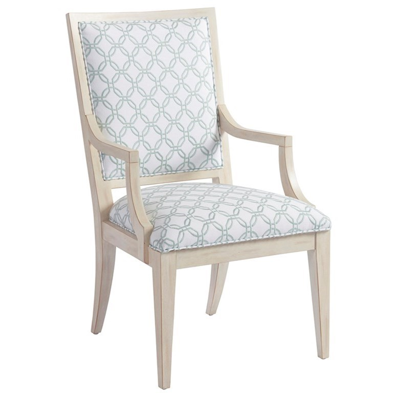 Newport Eastbluff Arm Chair by Barclay Butera at Baer's Furniture