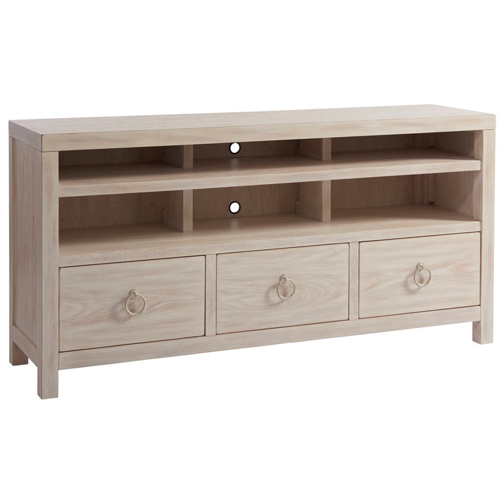 Newport Promontory Media Console by Barclay Butera at Baer's Furniture