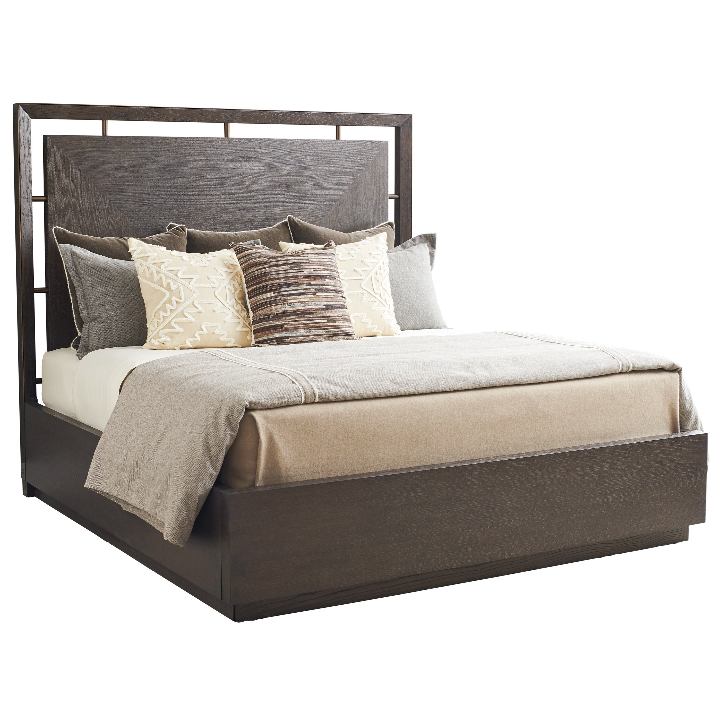Park City Sundance Queen Panel Bed by Barclay Butera at Baer's Furniture