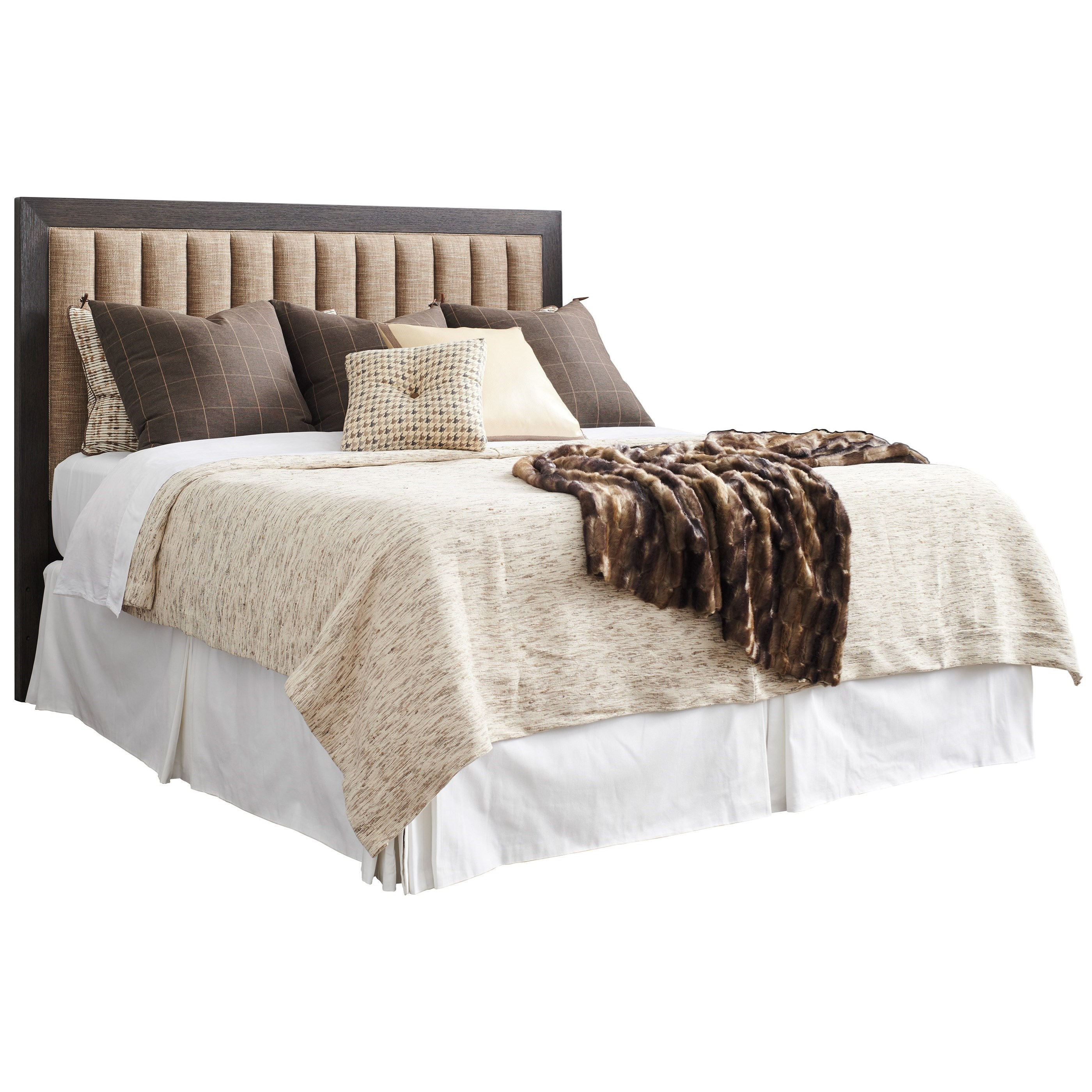 Park City Talisker Queen Upholstered Headboard by Barclay Butera at Baer's Furniture
