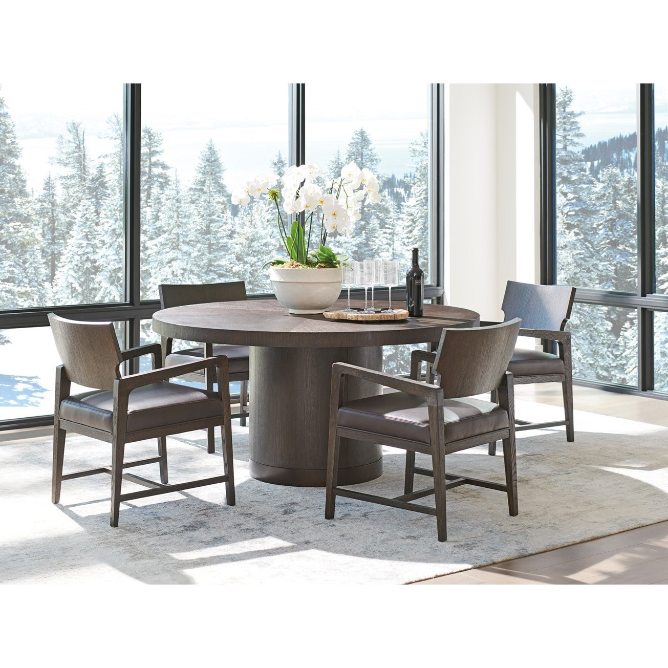 Park City 5-Piece Dining Set by Barclay Butera at Baer's Furniture