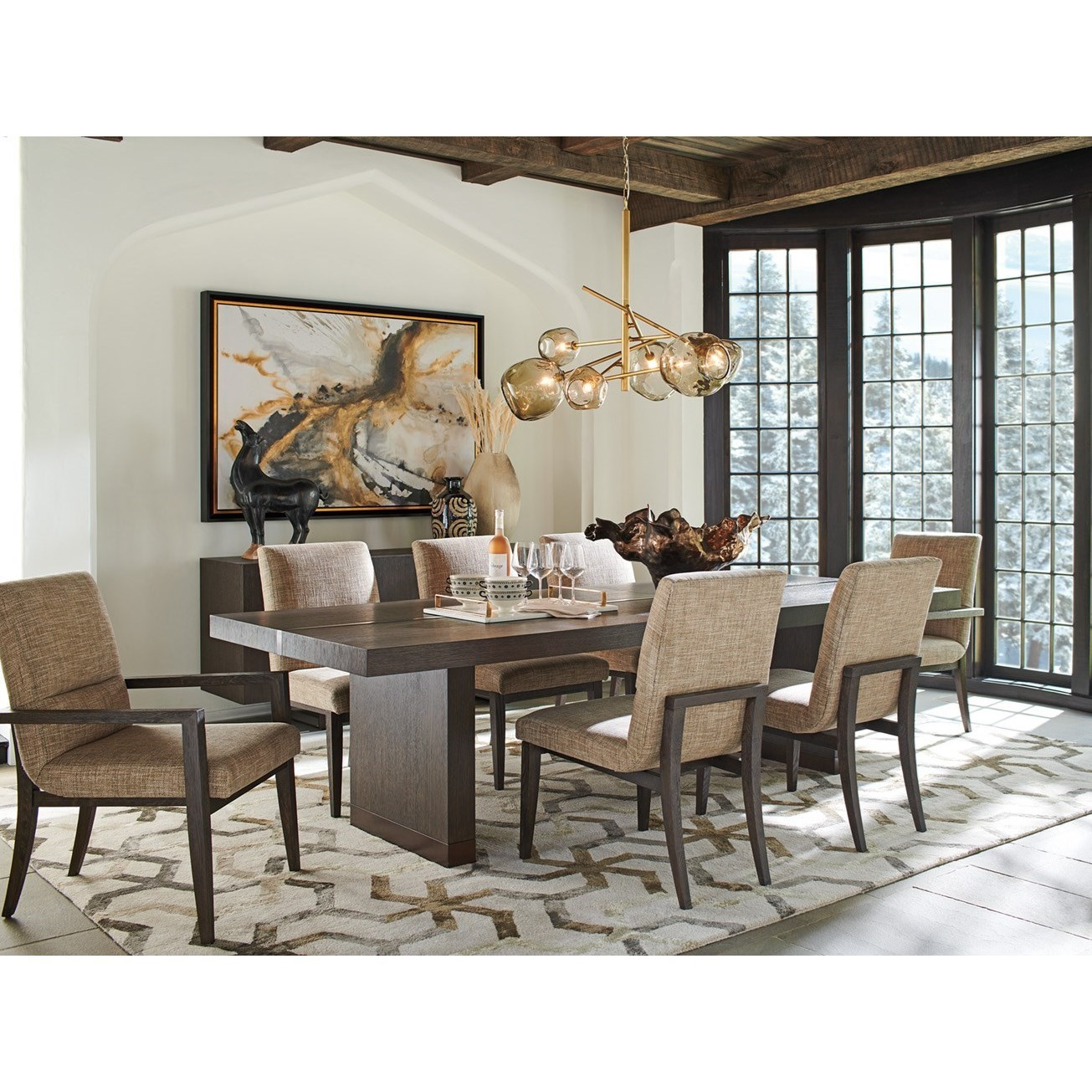 Park City 9-Piece Dining Set by Barclay Butera at Baer's Furniture