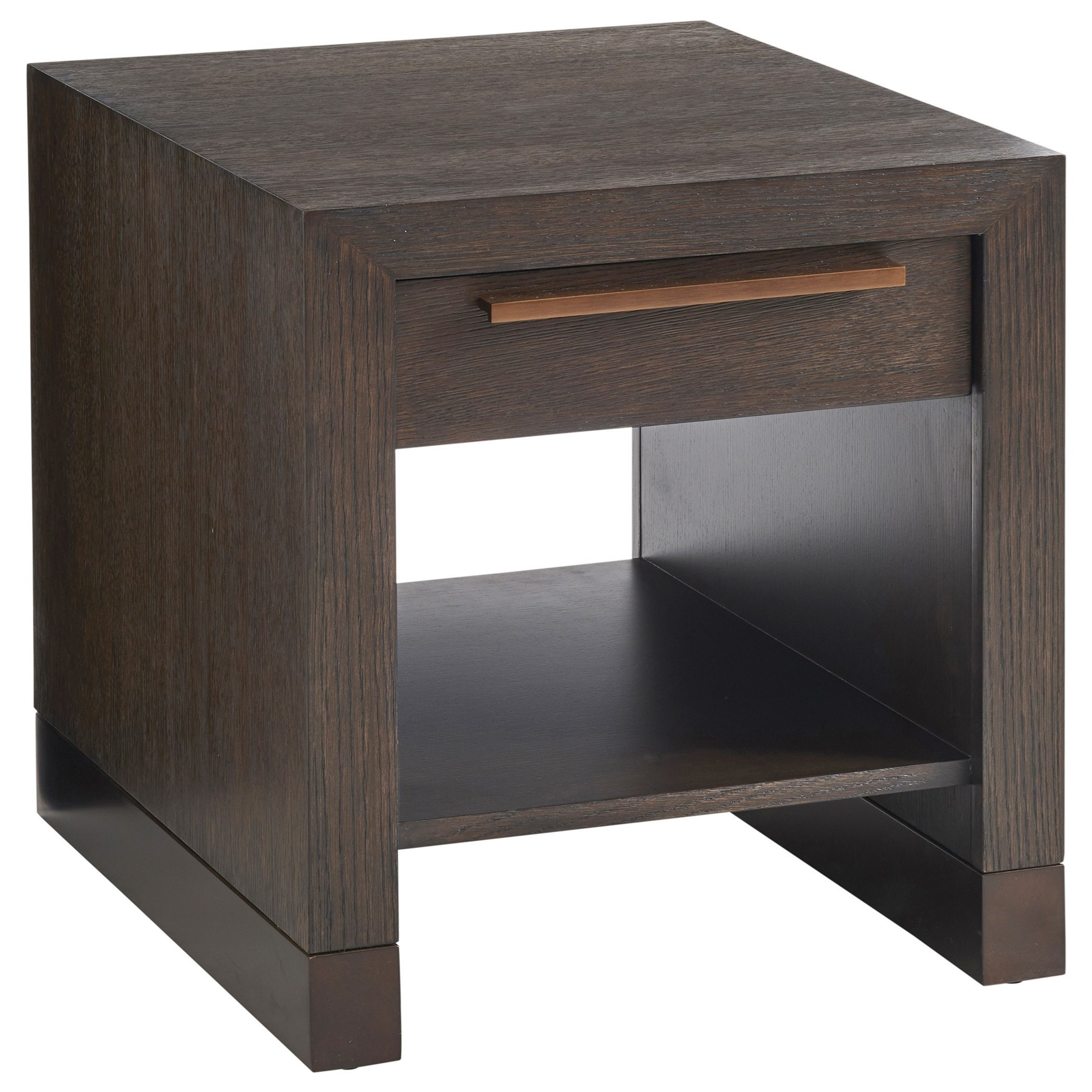 Park City Heber End Table by Barclay Butera at Baer's Furniture