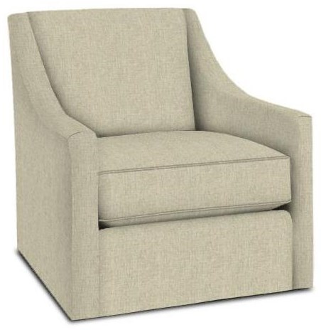1045 Swivel Chair by Bassett at Esprit Decor Home Furnishings