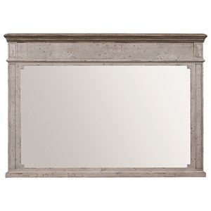 Dresser Mirror with Molding