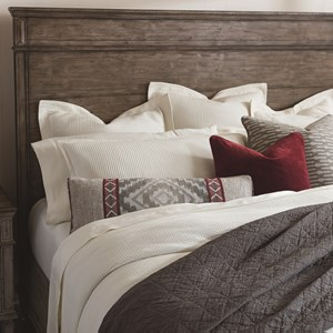 Rustic King Panel Headboard