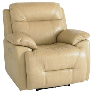 Casual Power Wallsaver Recliner with Power Headrest
