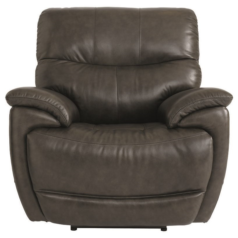 Brookville Power Recliner by Bassett at Esprit Decor Home Furnishings