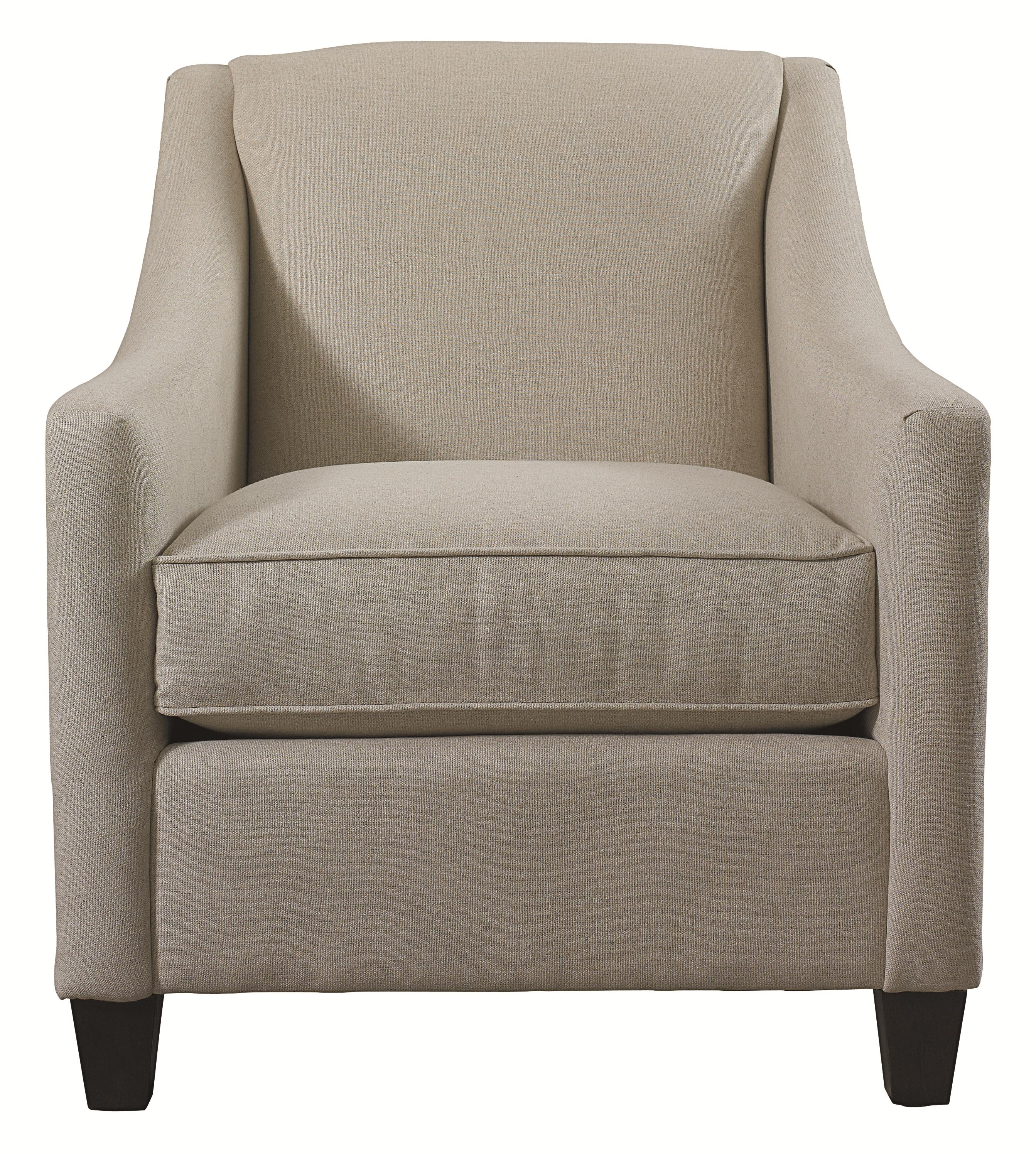 Corina Accent Chair by Bassett at Bassett of Cool Springs