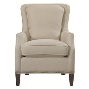 Kent Accent Chair with Wing Styled Back