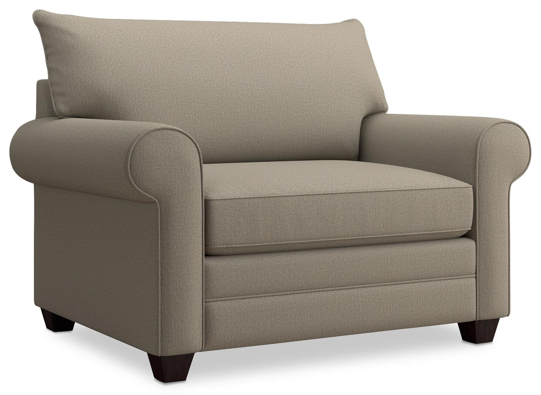 Alexander Chair and a Half by Bassett at Crowley Furniture & Mattress