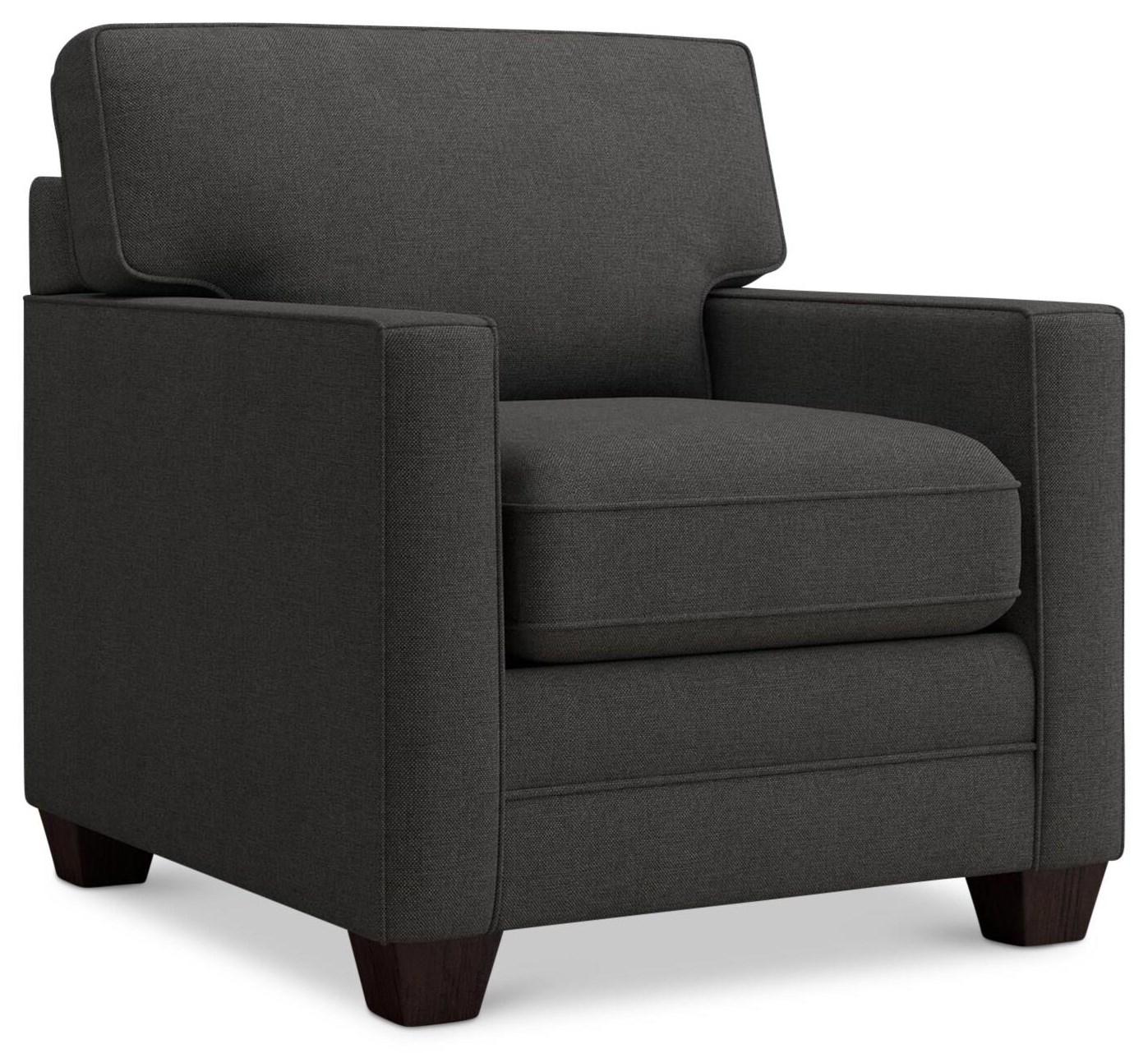 Alexander Chair by Bassett at Crowley Furniture & Mattress