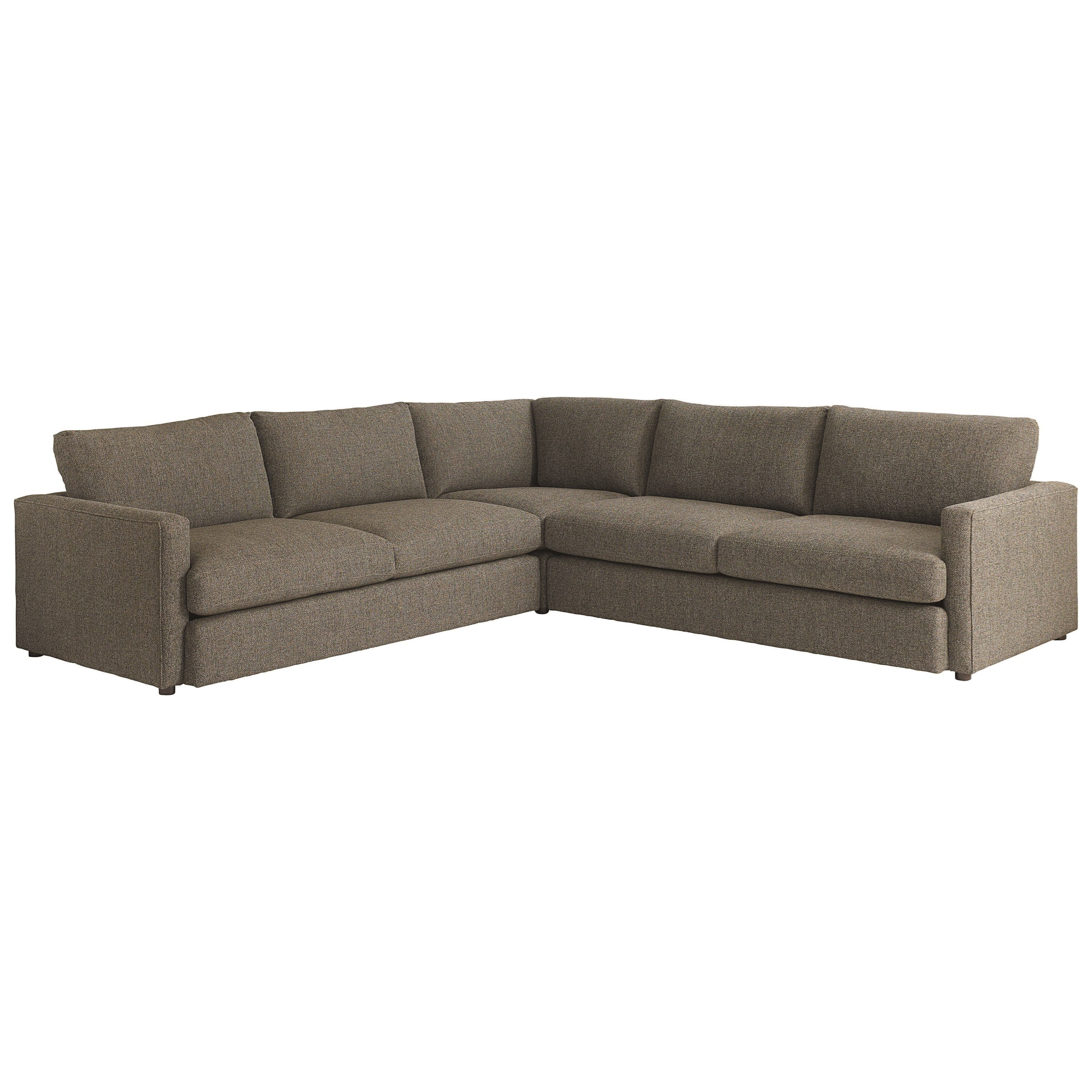 Allure Sectional with 4 Seats by Bassett at Williams & Kay
