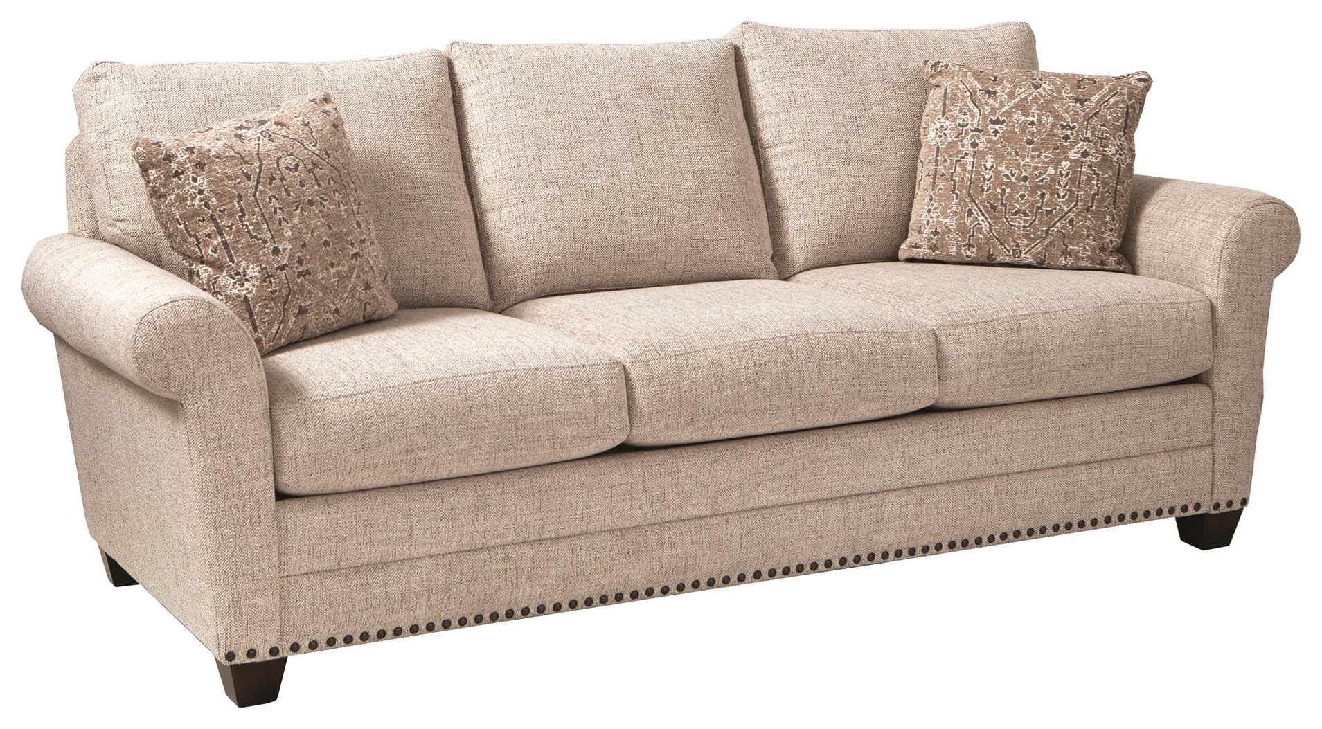 Andrew Sofa by Bassett at Darvin Furniture