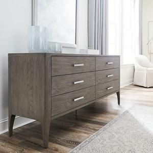 Modern Dresser with Self-Closing Drawers