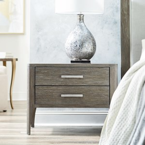 Modern Nightstand with Soft-Close Drawers