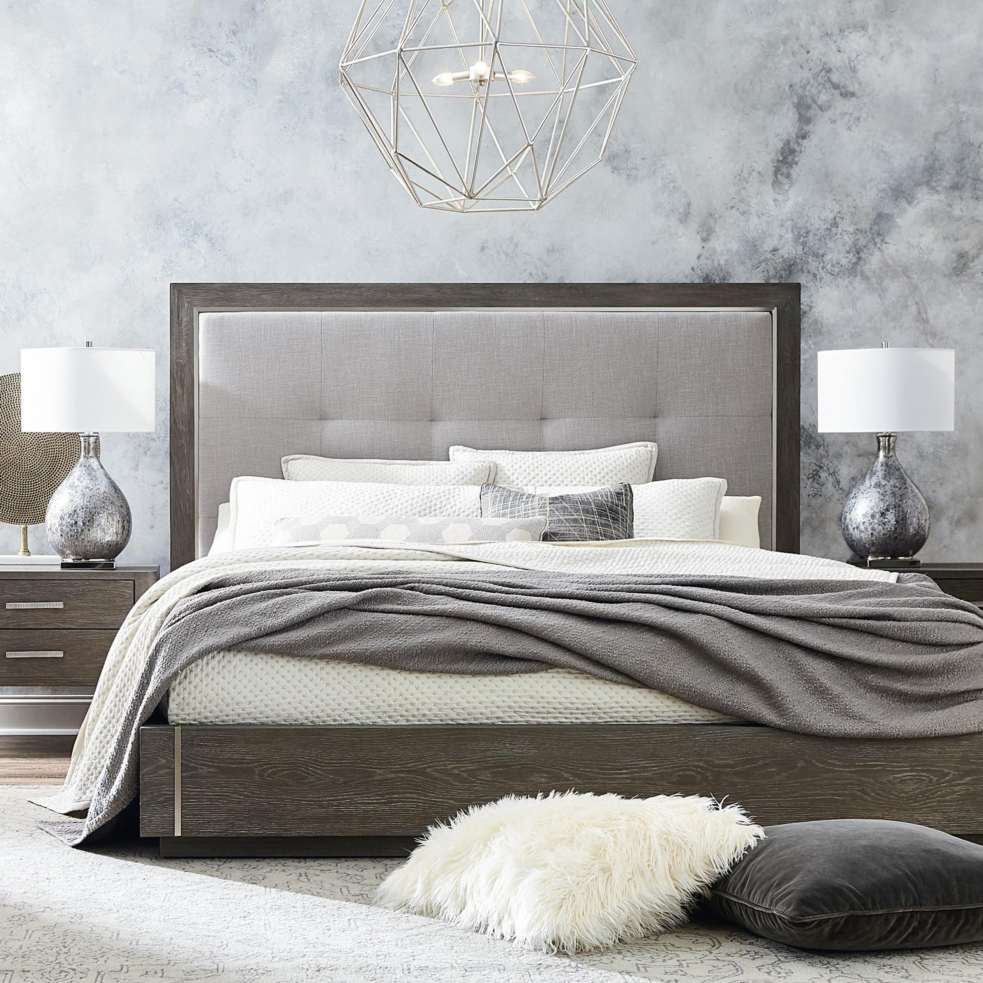 Modern - Astor and Rivoli Queen Bed by Bassett at Williams & Kay