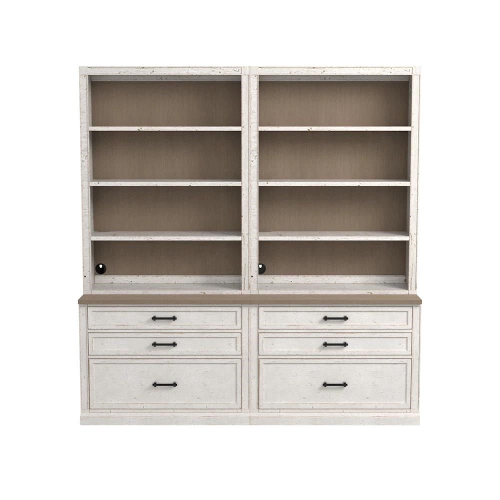 Bella Bookcase by Bassett at H.L. Stephens