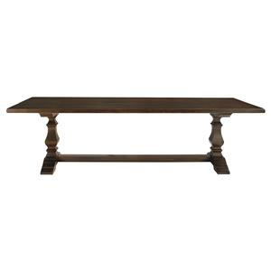 "108"" Rectangular Trestle Base Table"