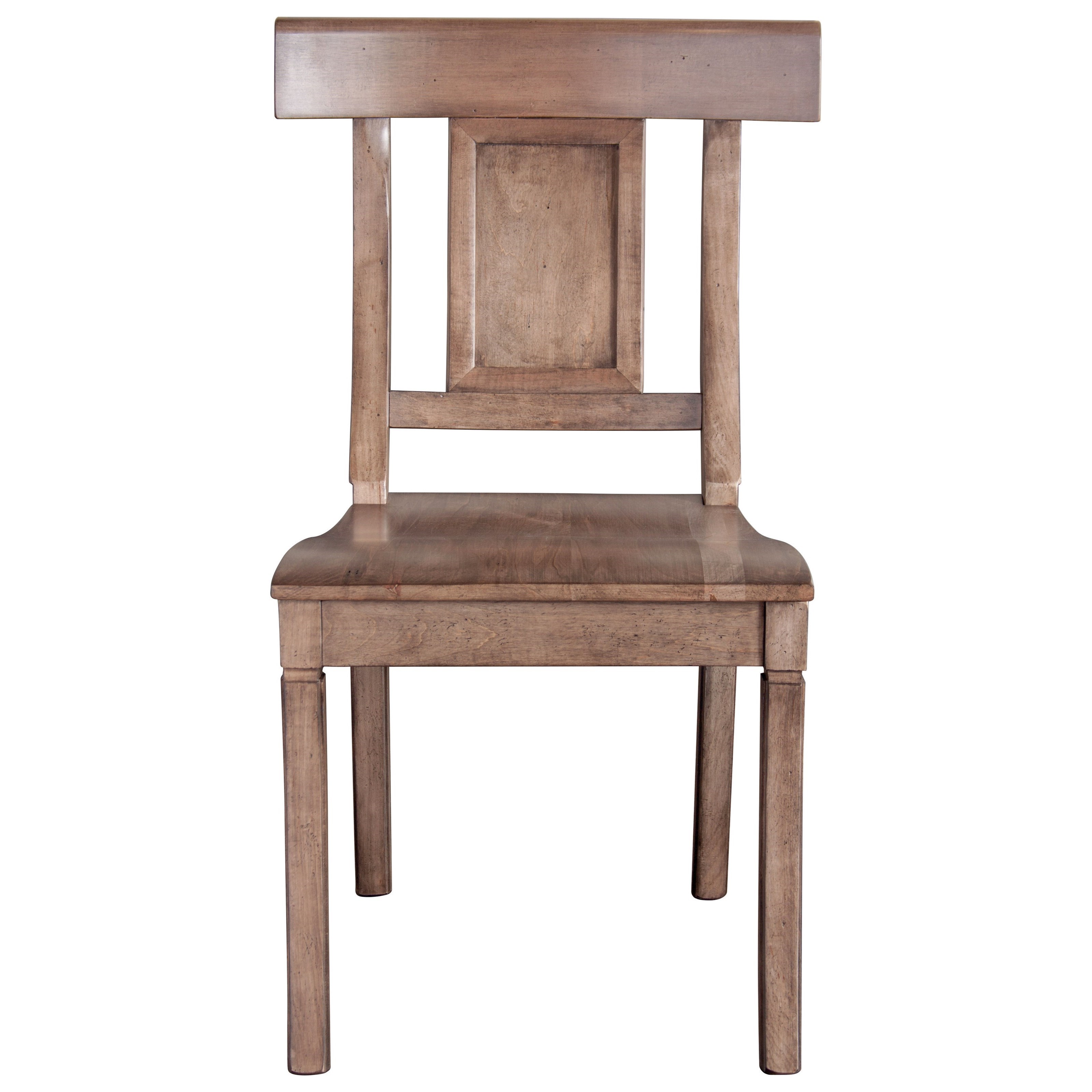 Bench Made Maple Baxter Side Chair by Bassett at Bassett of Cool Springs