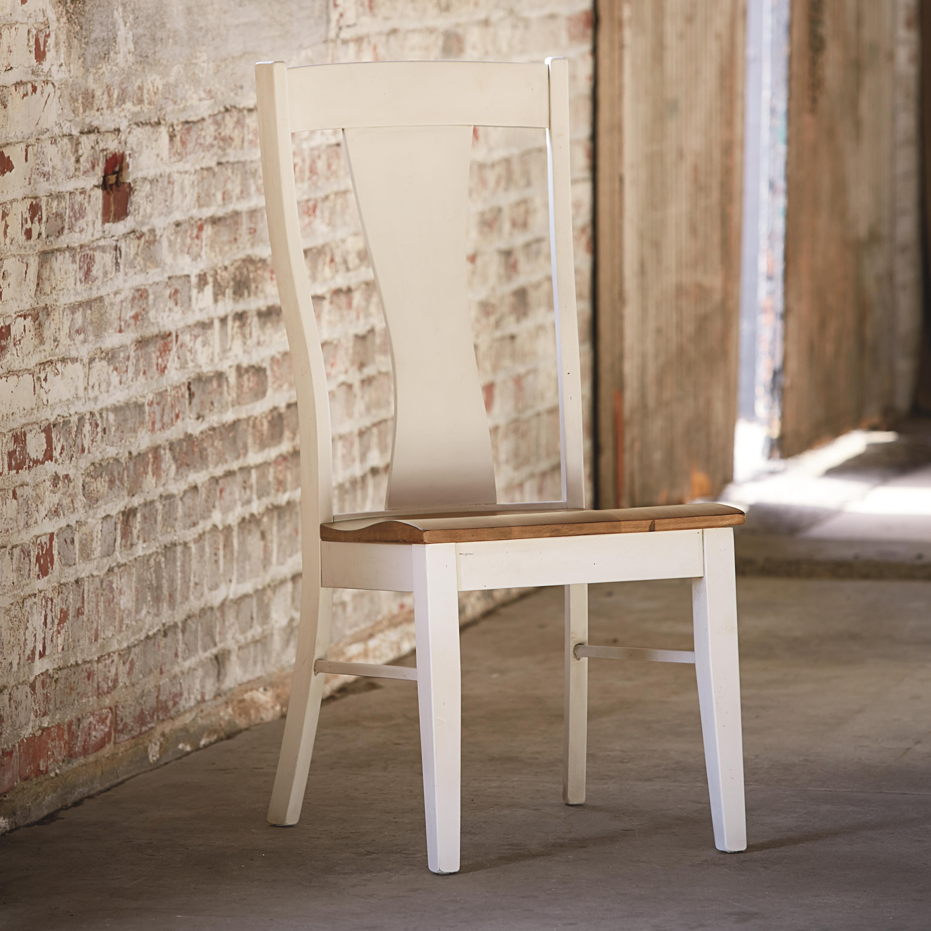 Bench Made Maple Boone Side Chair by Bassett at Bassett of Cool Springs