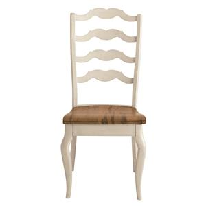 Greyson Side Chair with Elegant Styled Back