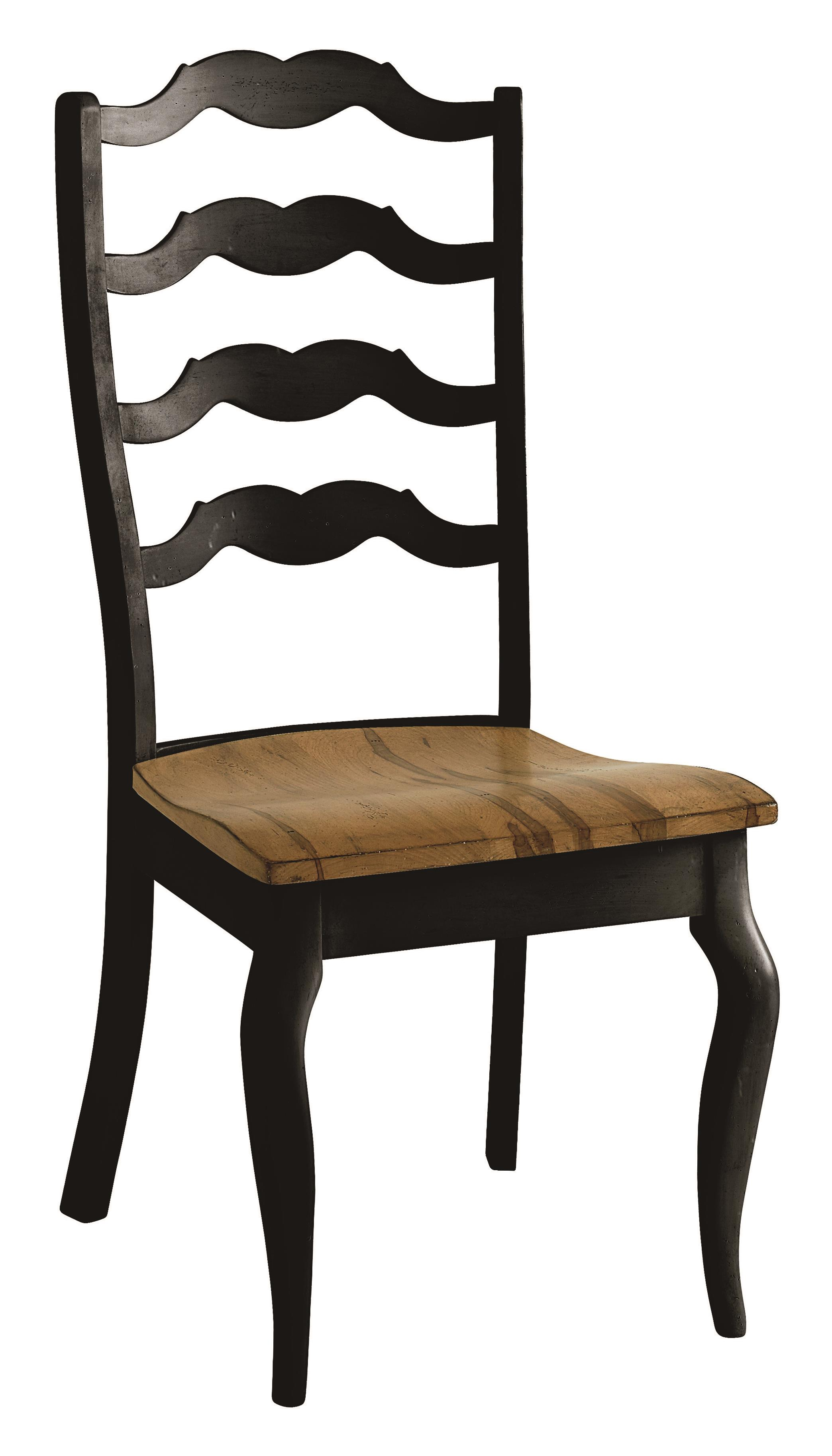 Bench Made Maple Greyson Side Chair by Bassett at Bassett of Cool Springs