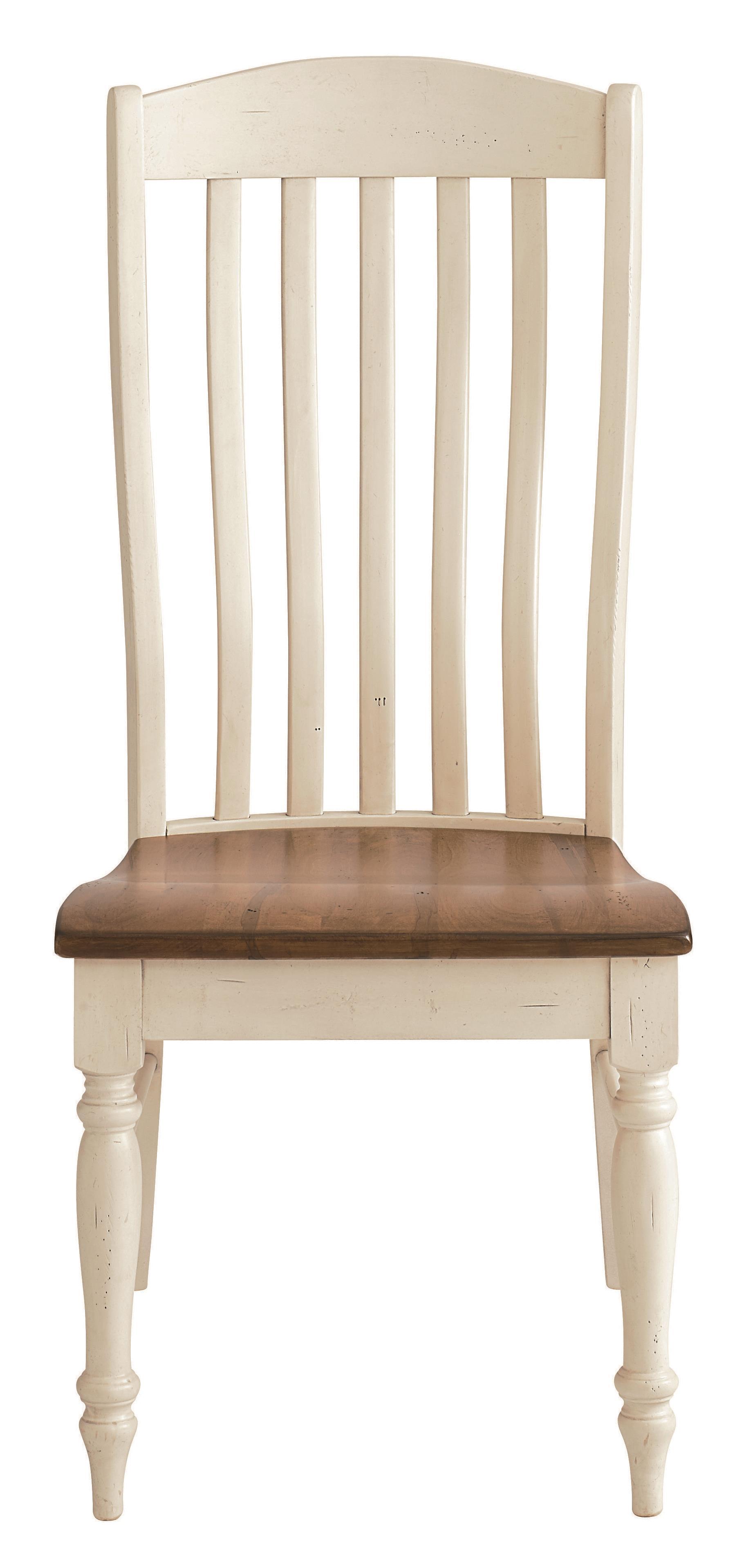 Bench Made Maple Henry Side Chair by Bassett at Bassett of Cool Springs