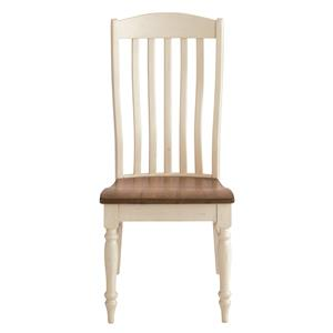 Henry Side Chair with Classic Slat Back