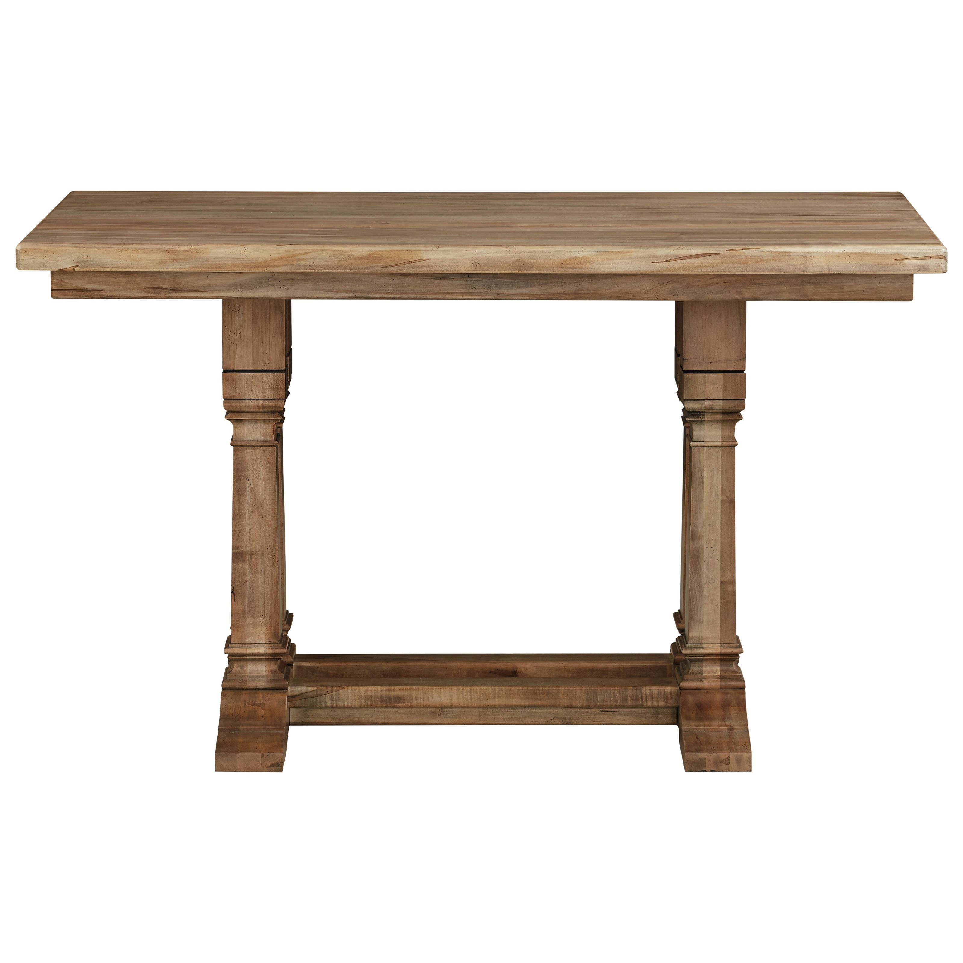 """Bench Made Maple 60"""" Adjustable Height Gathering Table by Bassett at H.L. Stephens"""