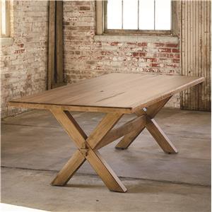 """Bassett Bench Made Maple 72"""" Rectangular Table"""
