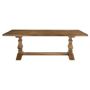 "90"" Rectangle Trestle Base Table"