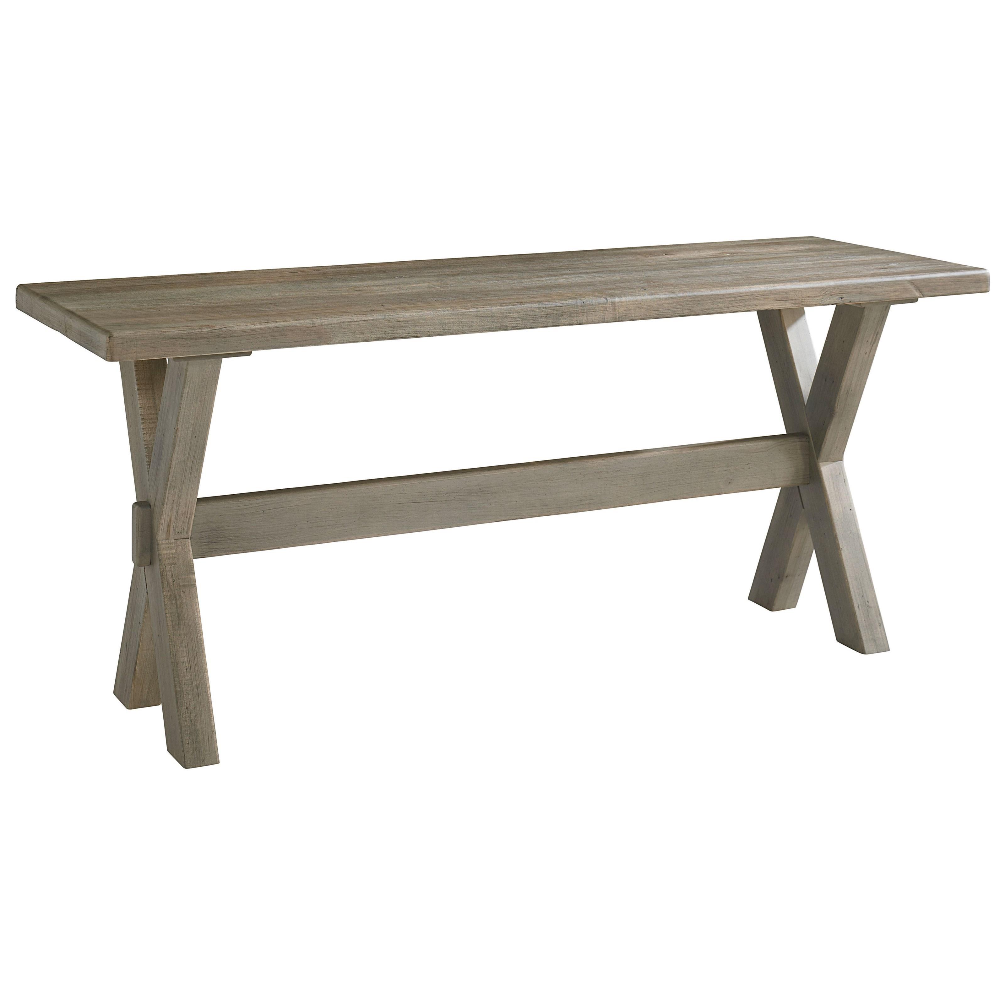 Bench Made Maple Desk by Bassett at Bassett of Cool Springs