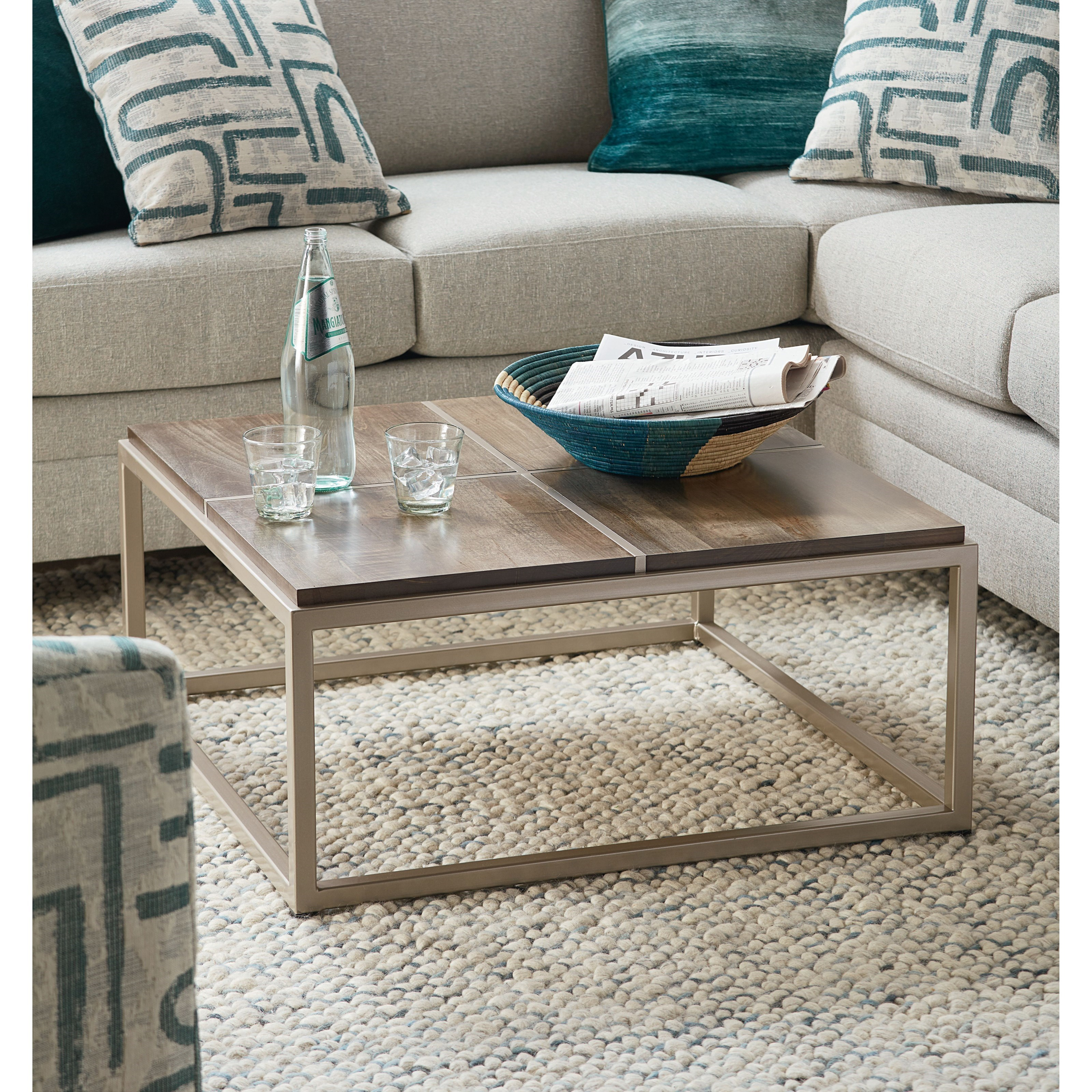 BenchMade Midtown Coffee Table by Bassett at Bassett of Cool Springs