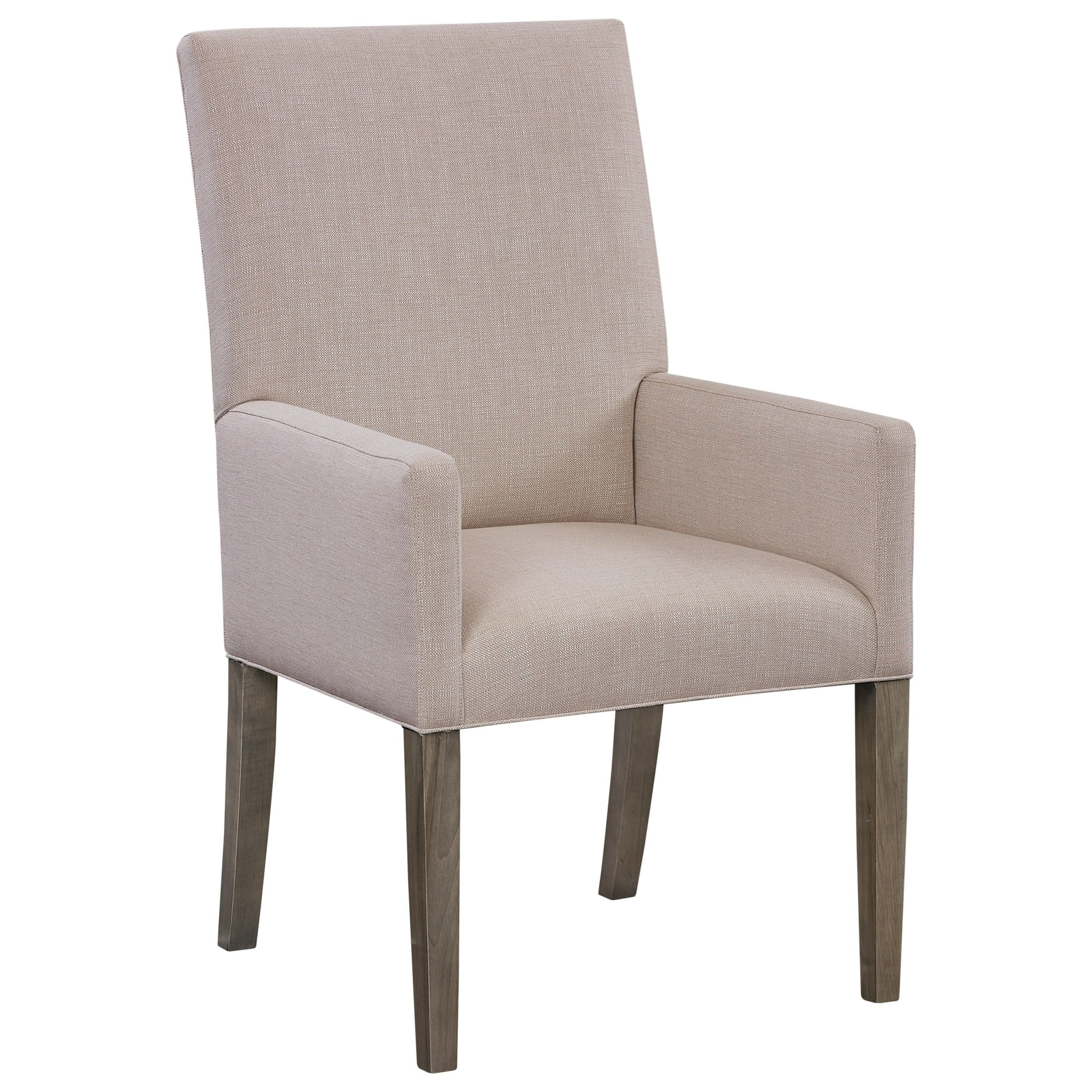 BenchMade Arm Chair by Bassett at Williams & Kay