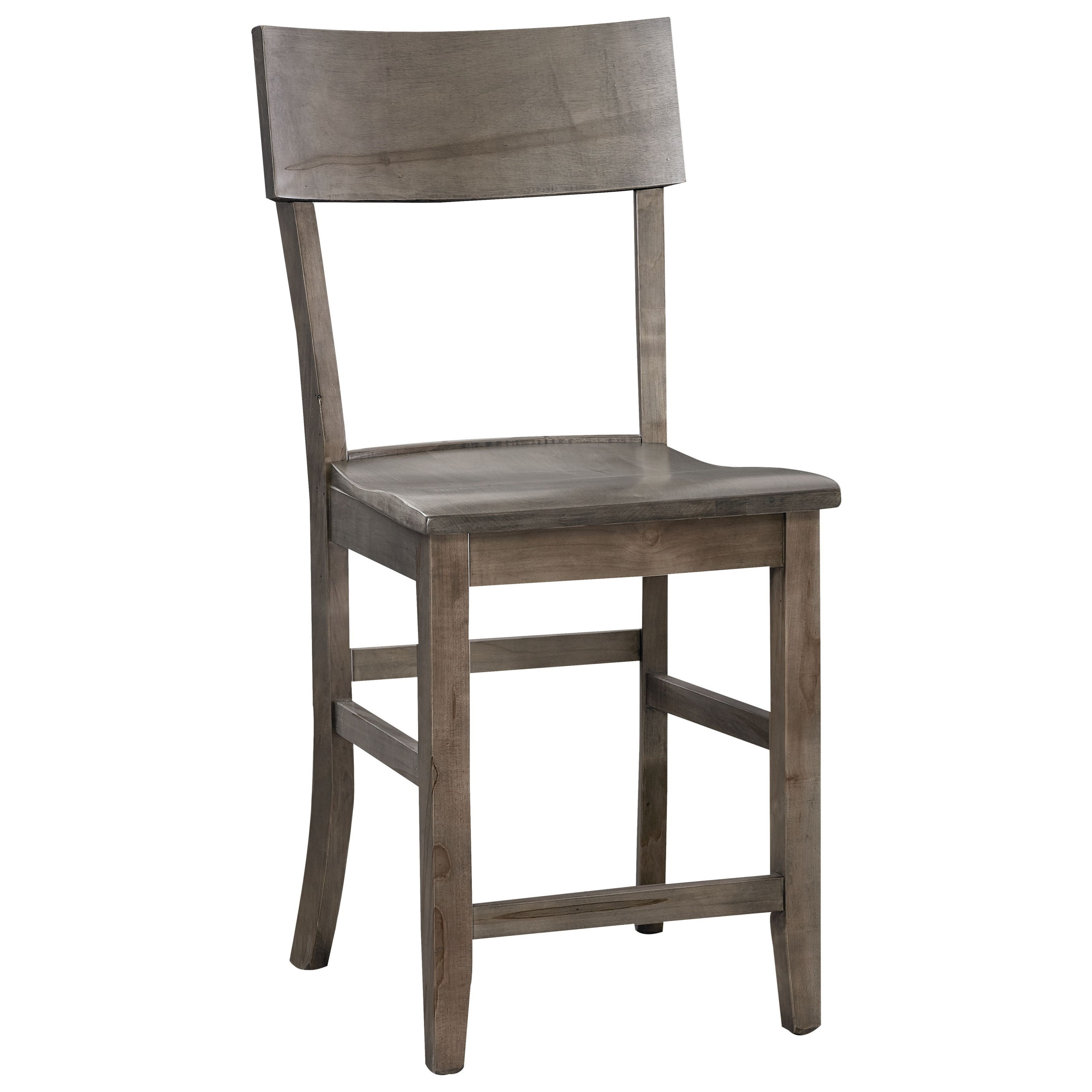 BenchMade Counter Height Stool by Bassett at Bassett of Cool Springs