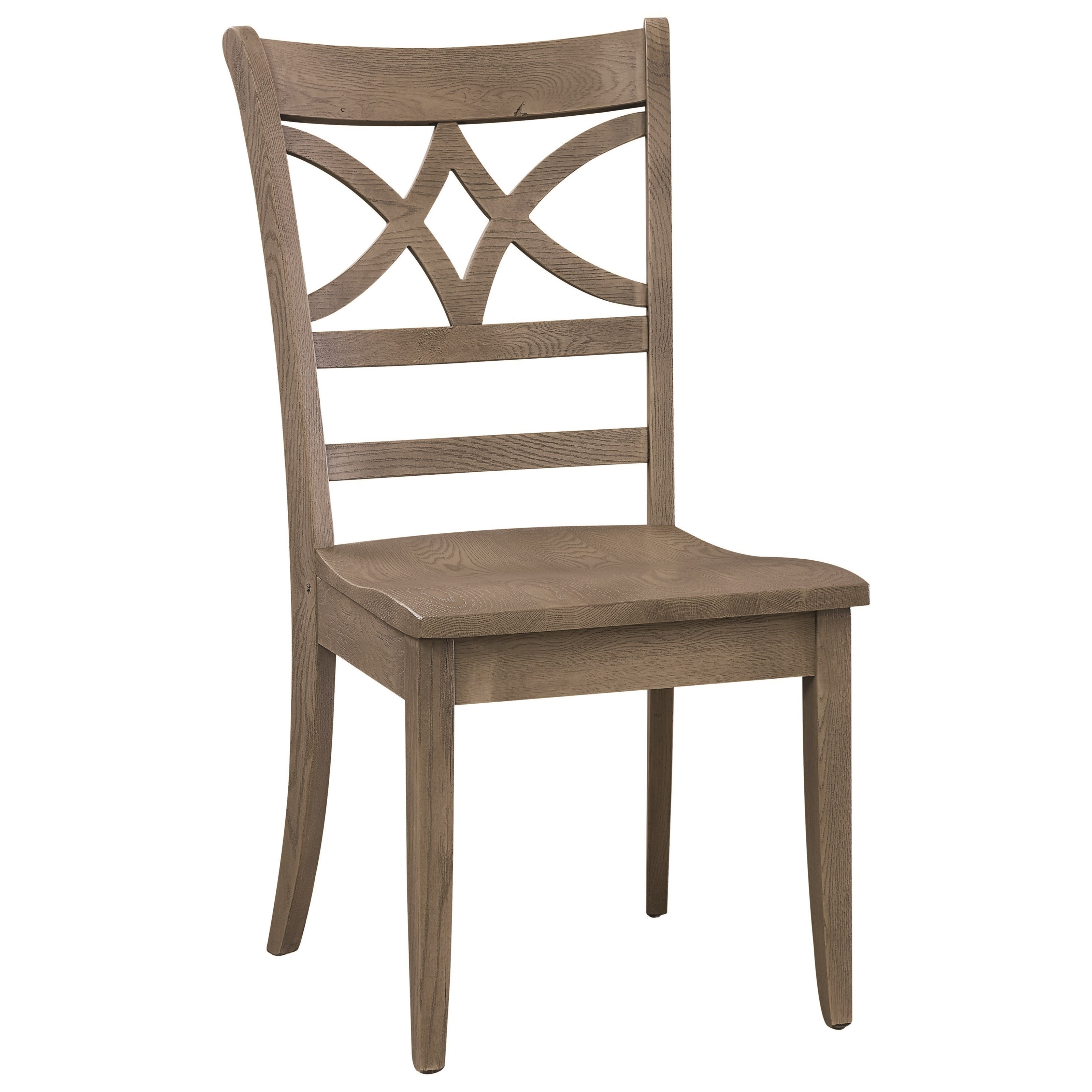 BenchMade Side Chair by Bassett at Virginia Furniture Market
