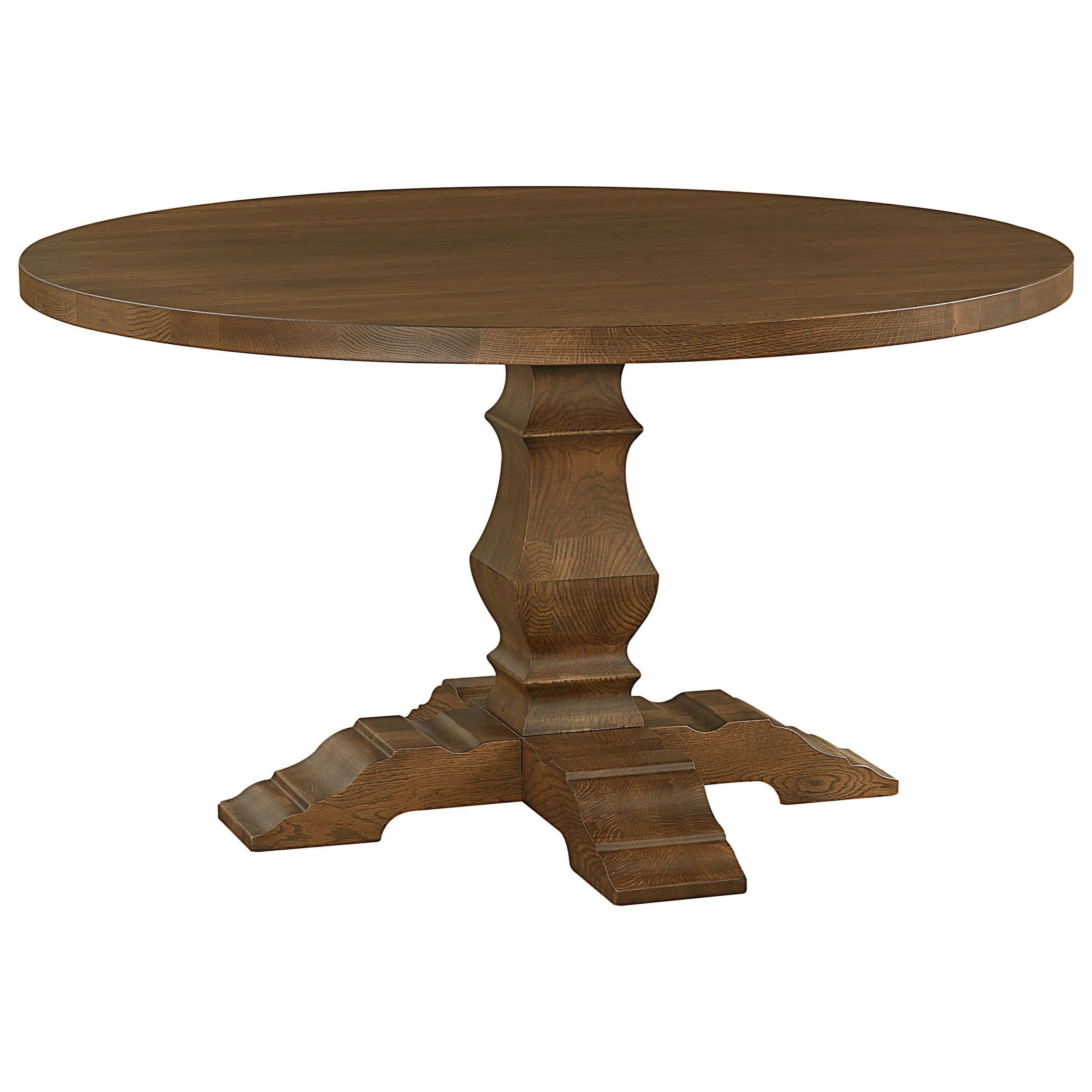 BenchMade Dining Table by Bassett at Suburban Furniture