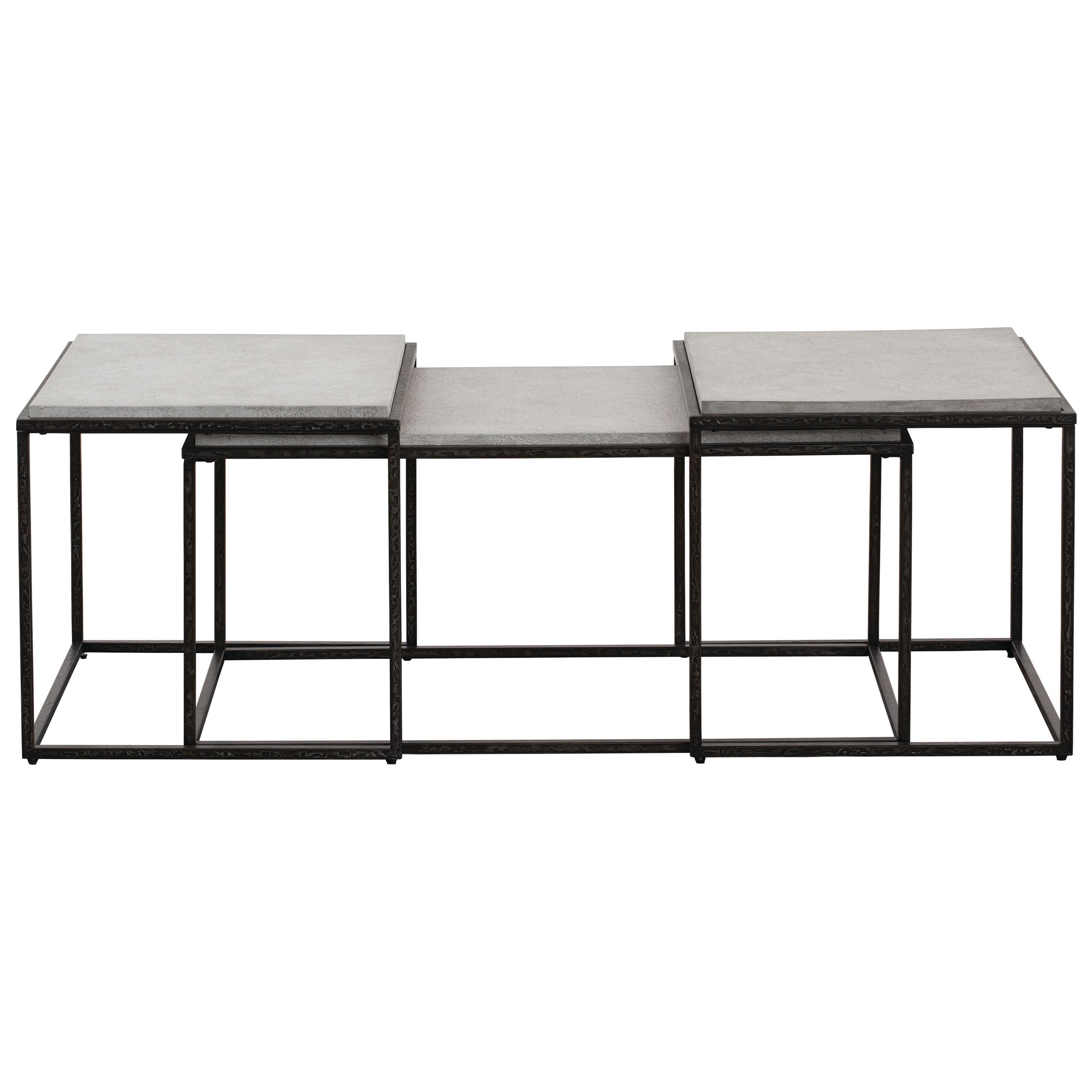 Boulder Bunching Cocktail Table by Bassett at Bassett of Cool Springs