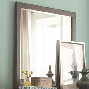 Dresser Mirror with Wood Frame